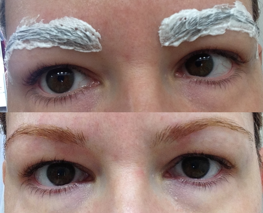 how to make eyebrows lighter