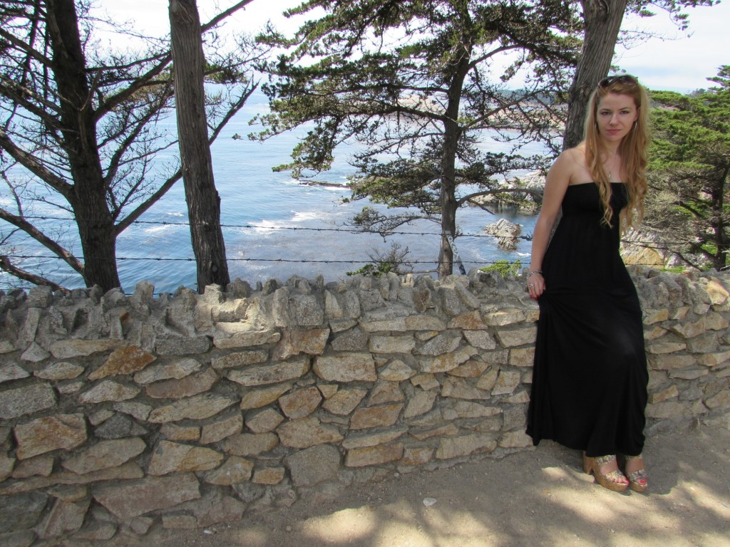 how to wear a long strapless dress